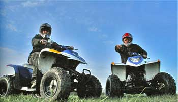QUAD BIKING BOURNEMOUTH HENS